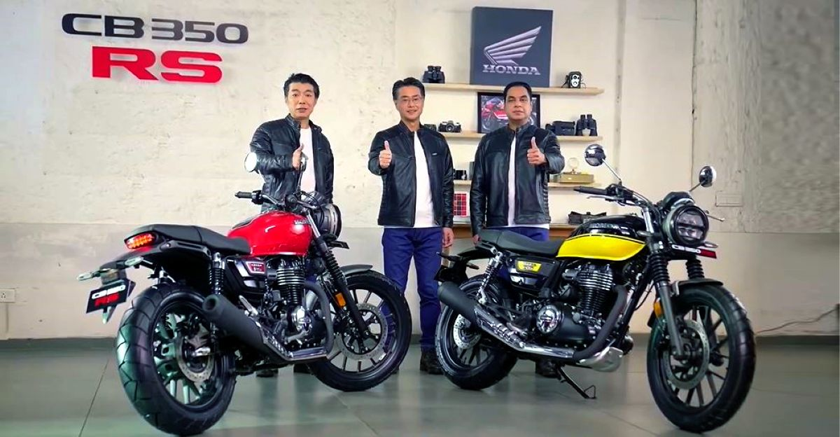 Honda CB350 RS launched at a price of Rs. 1.96 lakh