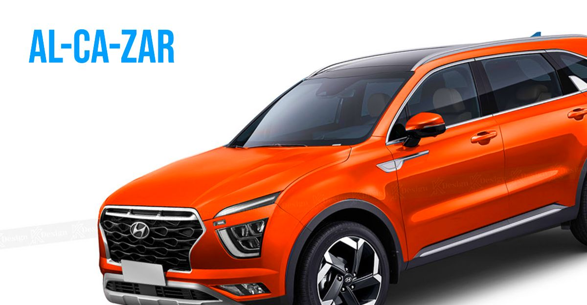Hyundai Alcazar: What the upcoming 7 seat SUV will look like