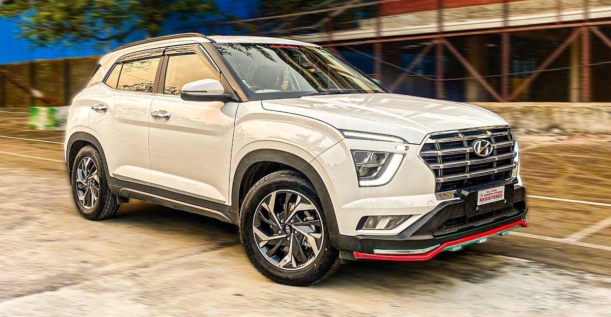 Hyundai Creta base E trim beautifully modified into a top-end SX trim