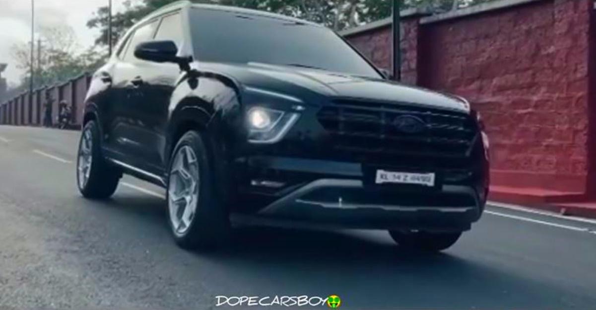 Tastefully modified 2020 Hyundai Creta looks sporty