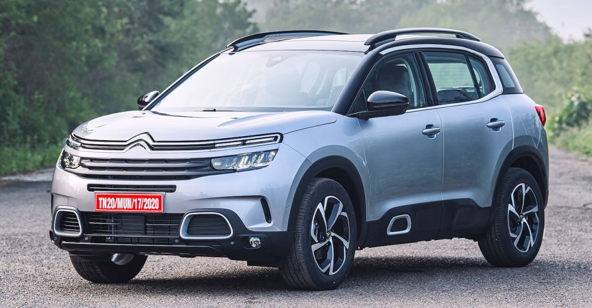 India-spec Citroen C5 Aircross SUV officially unveiled