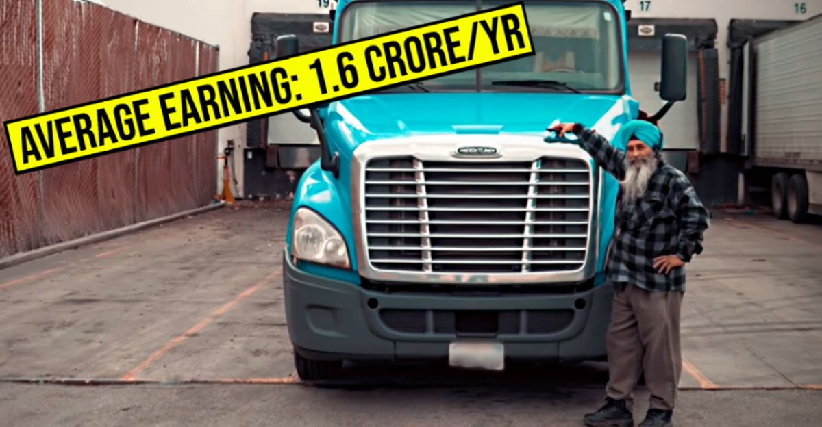 Indian truck drivers in North America: How much do they earn?