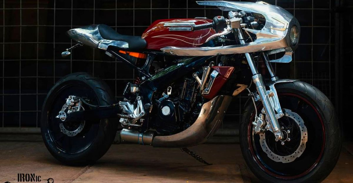 This Modified Bajaj Pulsar NS200 to from IRONic looks Rad