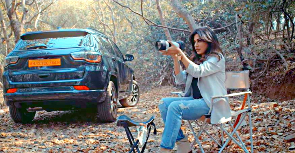 Jeep India releases new video for 2021 Compass featuring actress Chitrangada Singh - CarToq.com