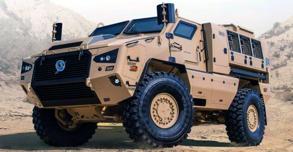 Indian Army's latest ride is the massive Kalyani M4