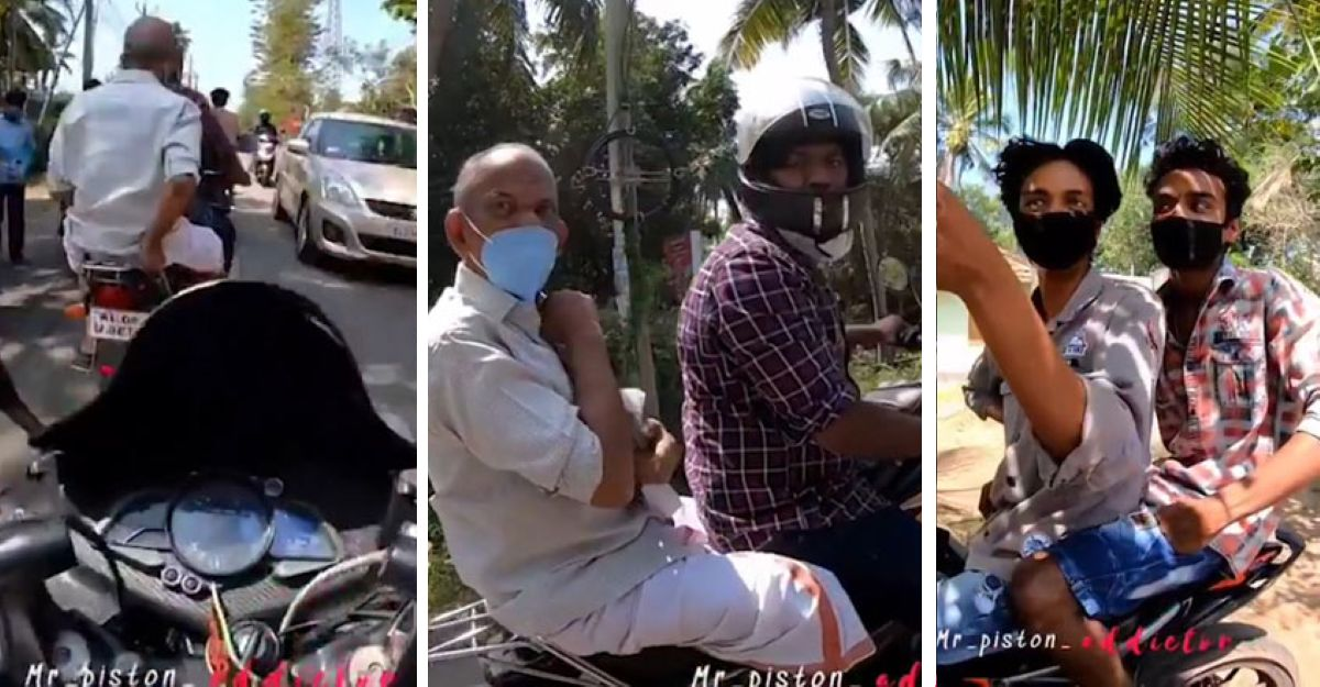 Kerala MVD arrests bikers who deliberately crashed into another bike to create viral video