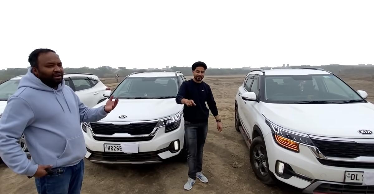 Kia Seltos HTK Plus trim converted into top-end trim [video]