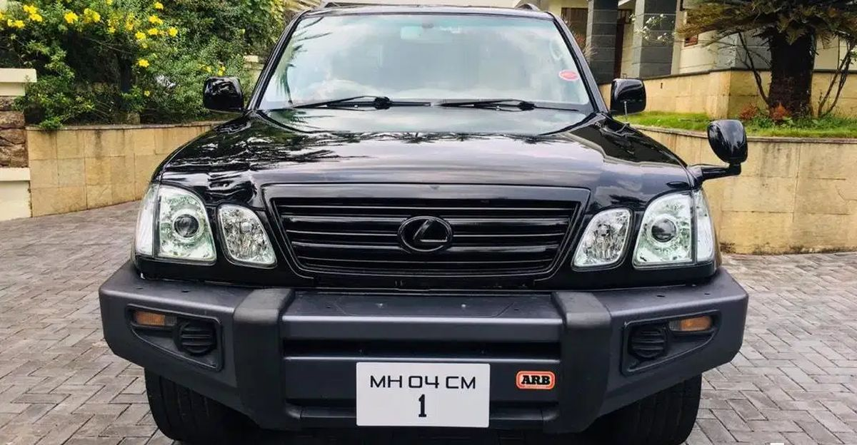 Used Lexus LX470 luxury SUVs selling at a fraction of their original cost