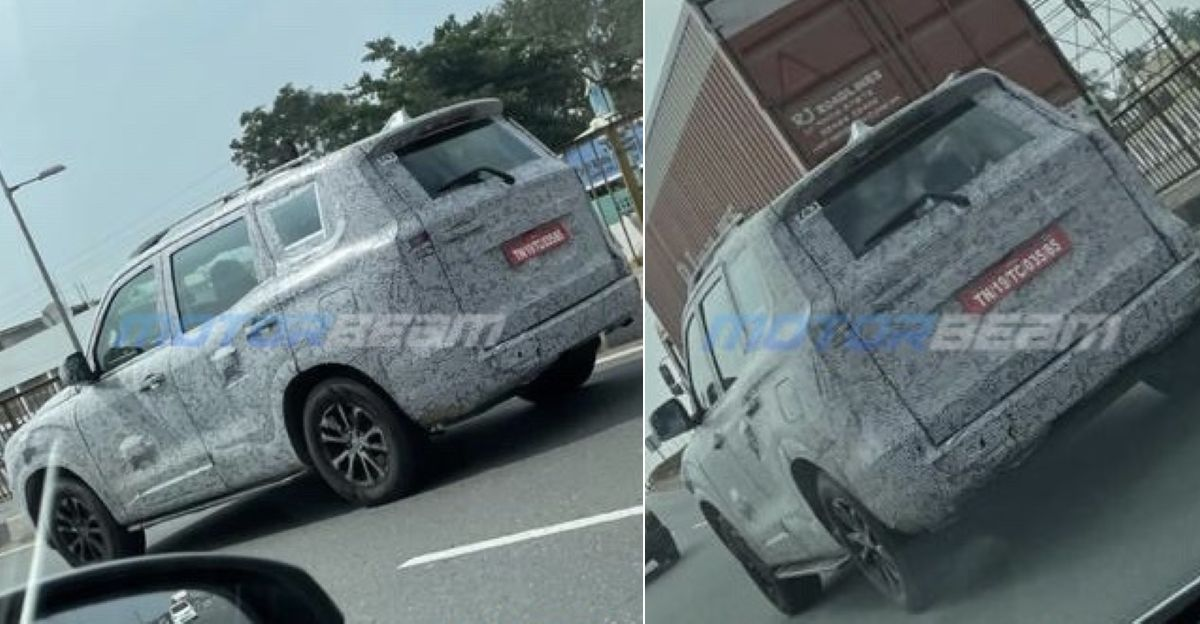 All-new 2021 Mahindra Scorpio spied in production-ready trim