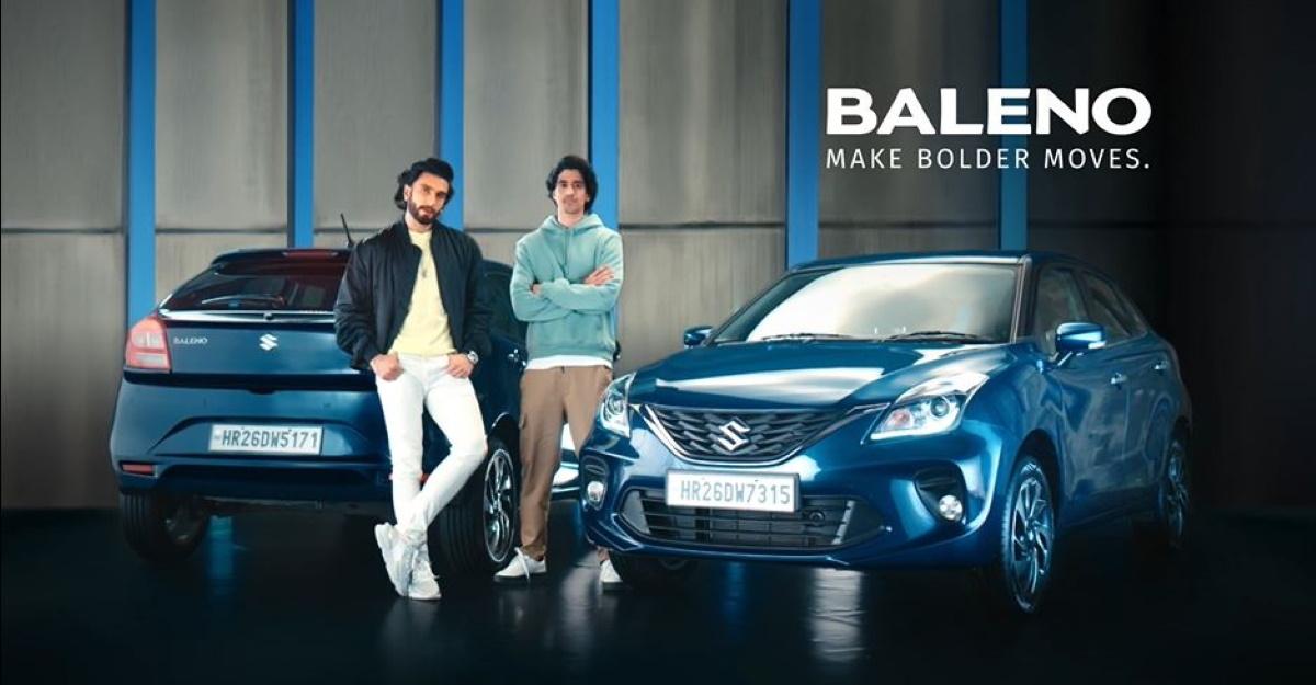 Maruti Suzuki Baleno gets a new TVC starring Ranveer Singh