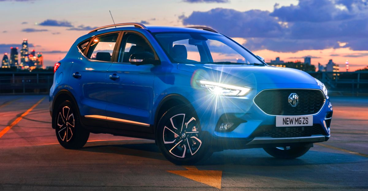 MG ZS Petrol to get a new name when launched in India as Hyundai Creta rival
