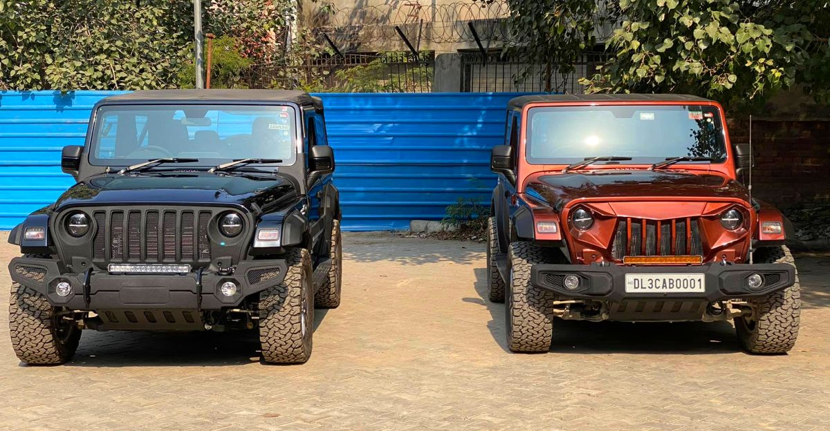 These 2020 Mahindra Thar 4X4s modified by Bimbra look Mean & Muscular
