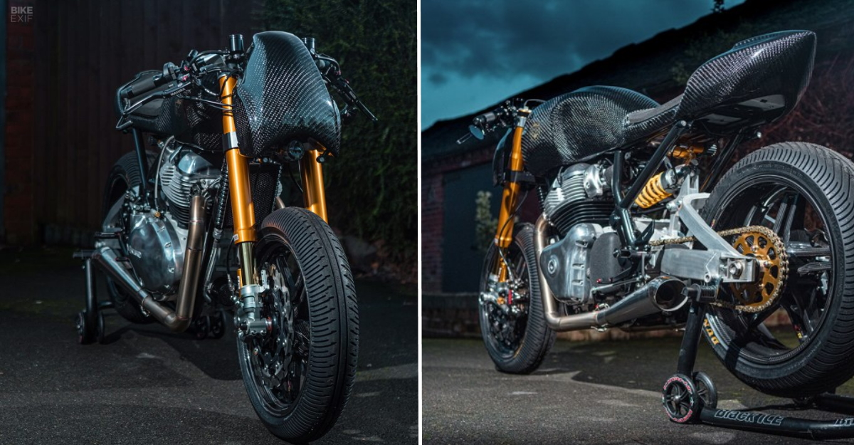 Royal Enfield Continental GT 650 modified by Goblin Works Garage