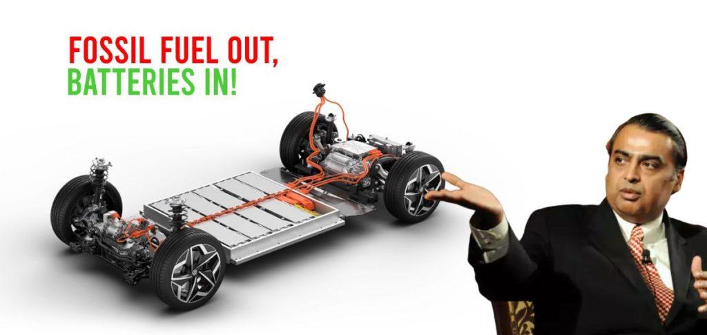 Mukesh Ambani planning EV batteries & renewable energy initiatives - CarToq.com