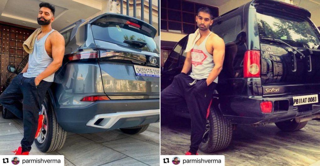 Parmish Verma shares picture of his older Tata Safari - CarToq.com