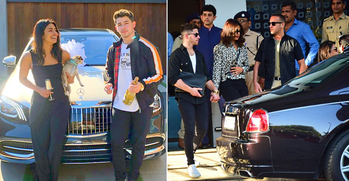 Priyanka Chopra, Nick Jonas & their multi-crore cars: Rolls Royce to Dodge Challenger