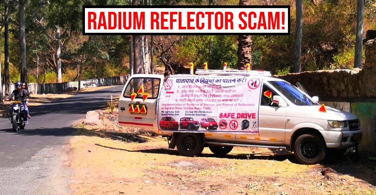 Beware of frauds forcing car drivers to buy 'compulsory' radium reflective tape