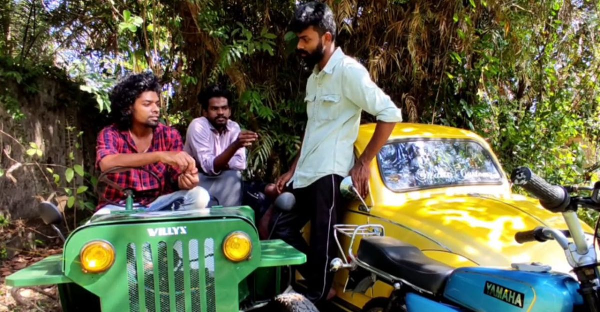 Meet the youth who built a mini Beetle, Electric Jeep & Yamaha RX100 pocket bike in his garage