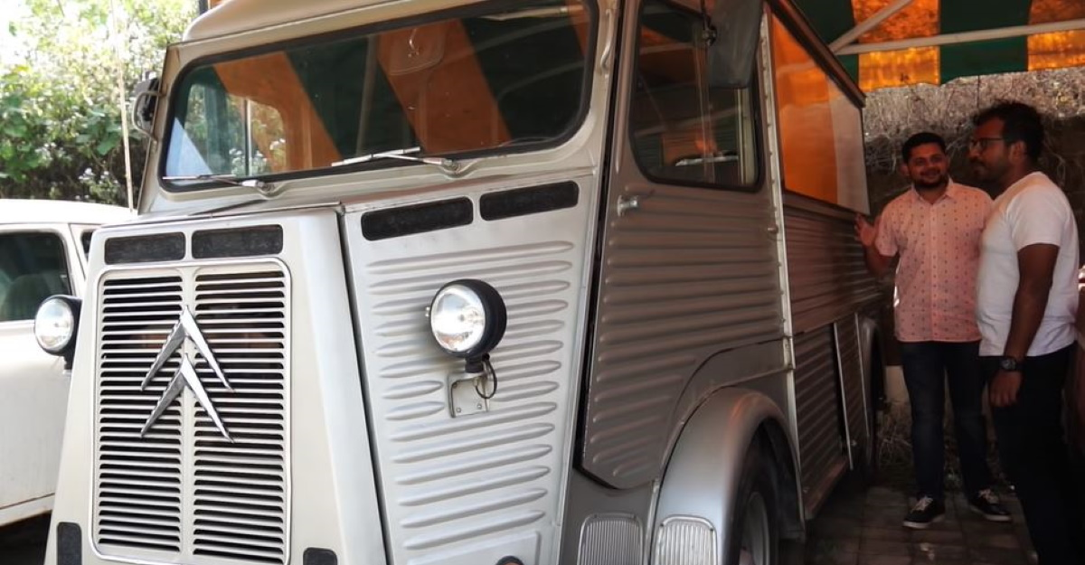Meet one of India's oldest surviving Citroen on video