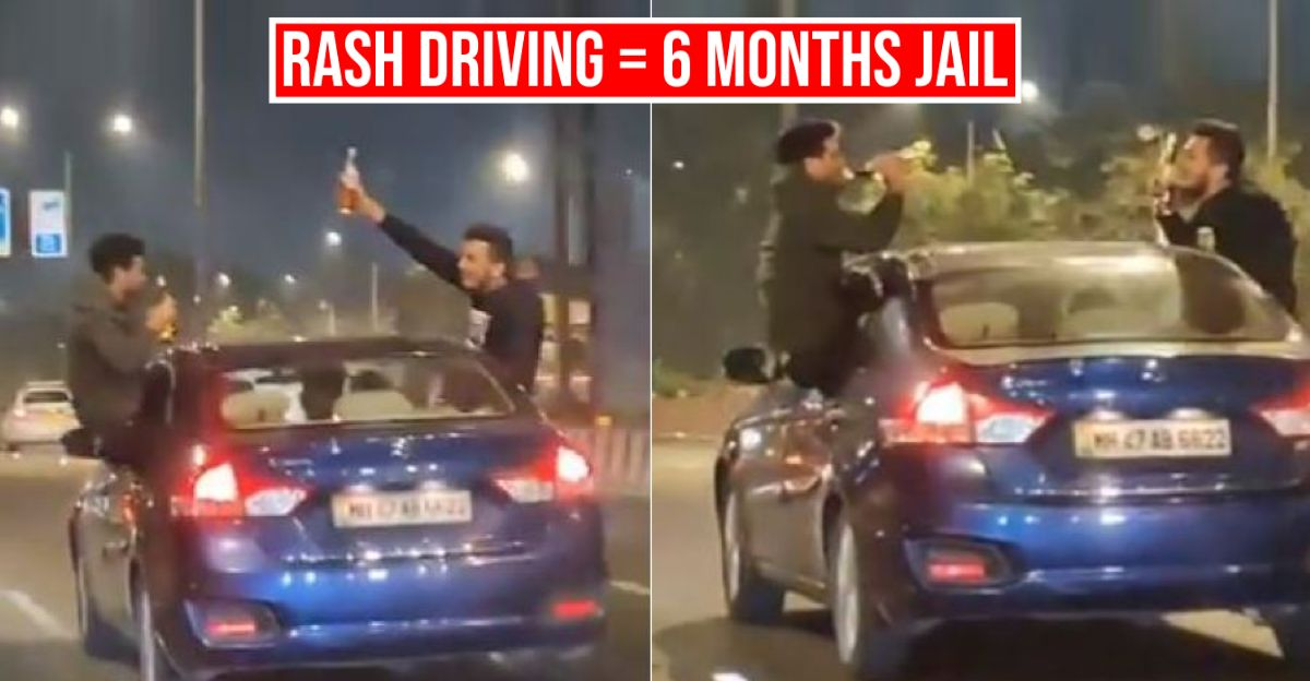6 months imprisonment for driving rashly: Police Department