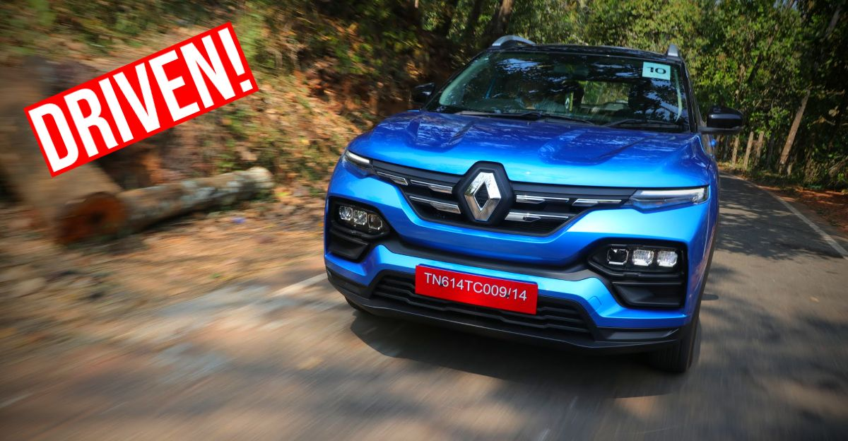 Renault Kiger 1.0 Turbo Manual compact SUV in CarToq's first drive report