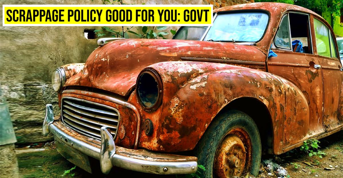 Vehicle scrapping policy brought in the interest of owners not automobile industry: Government