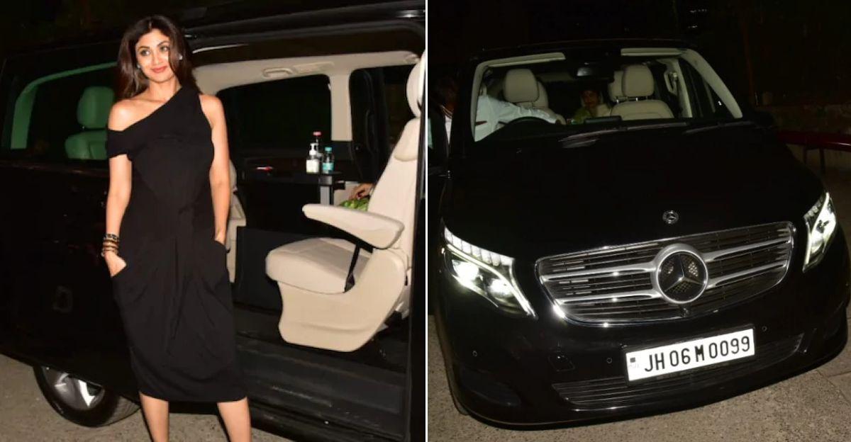 Shilpa Shetty buys Mercedes-Benz V-Class luxury MPV worth Rs. 70 lakh