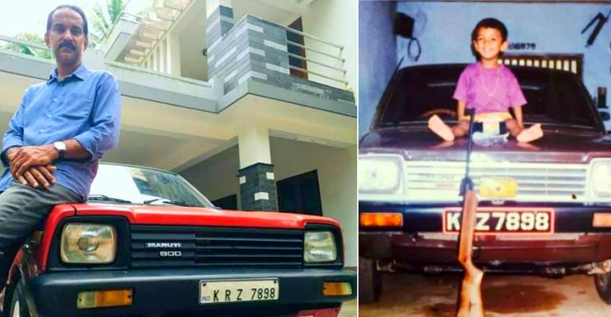 Son finds father's first Maruti 800 that was sold years ago: Gifts him the long lost car