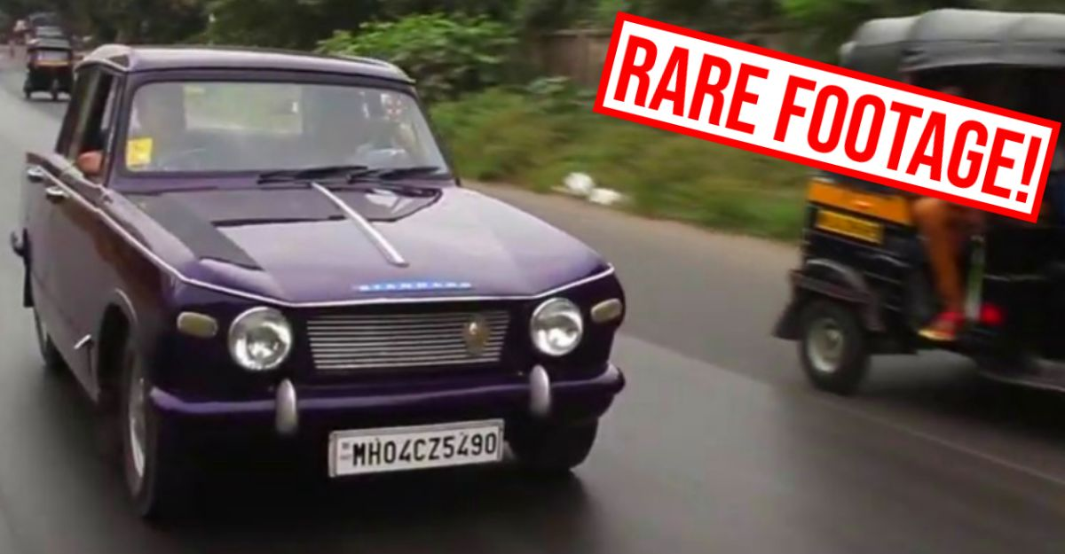 Indian cars of the 70s: See the Standard Herald in action