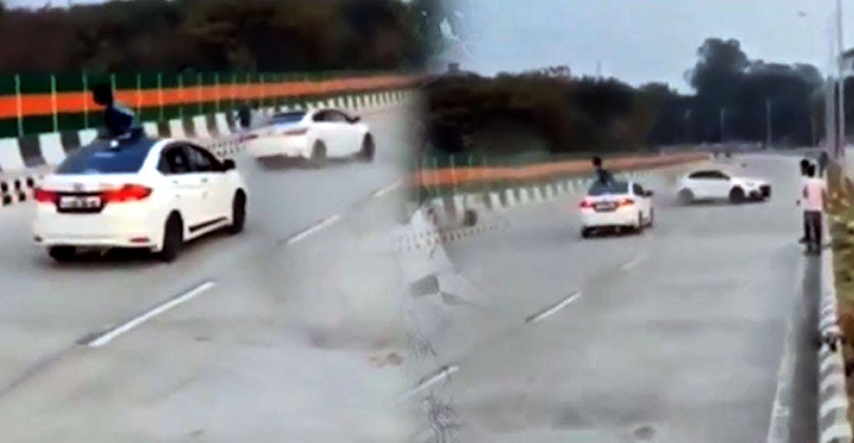 Car stunt on republic day goes viral: Hyundai Creta, Verna, Honda City & Chevrolet Cruze seized