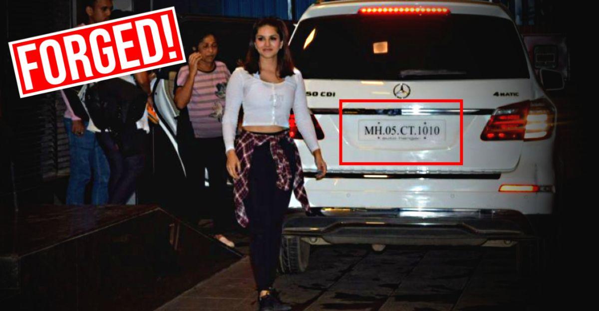 Mercedes Benz owner arrested for forging Sunny Leone's husband's car number for 'numerology'
