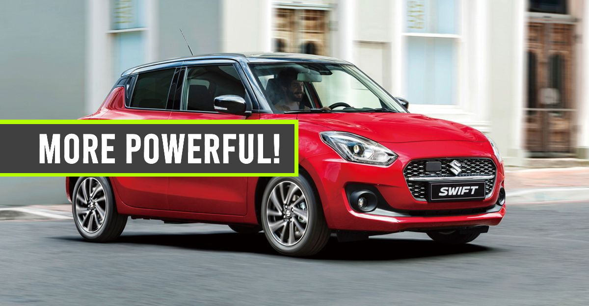 Maruti Suzuki Swift Facelift with more powerful engine launching this month