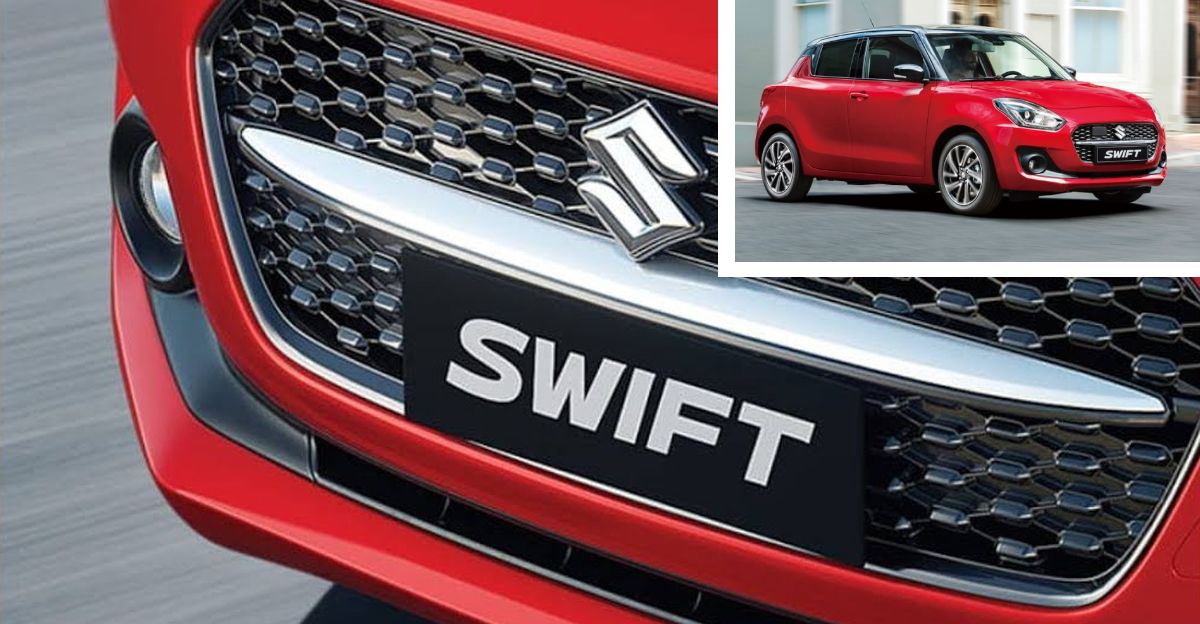2021 Maruti Suzuki Swift official teaser released ahead of launch