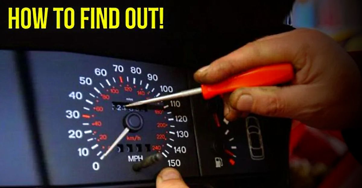 Detect tampered odometers: How to avoid getting tricked
