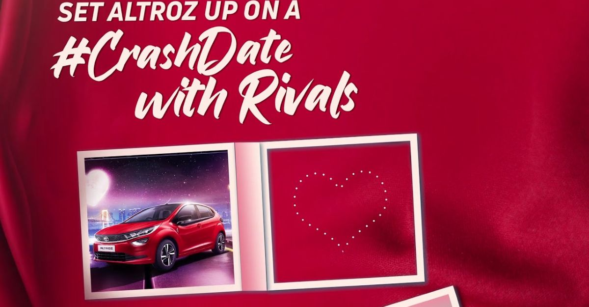 Tata Altroz now wants fans to tag other premium hatchbacks for a #CrashDate