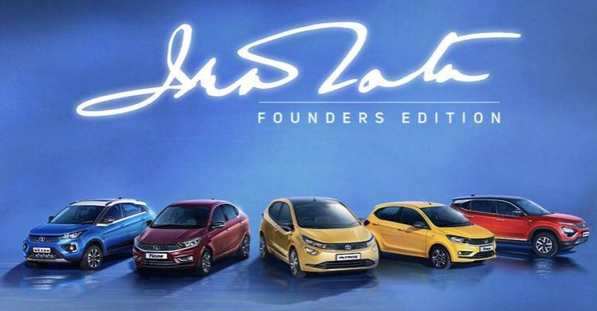 Tata launches Founders Edition of Tiago, Tigor, Altroz, Nexon & Harrier but you can't buy them