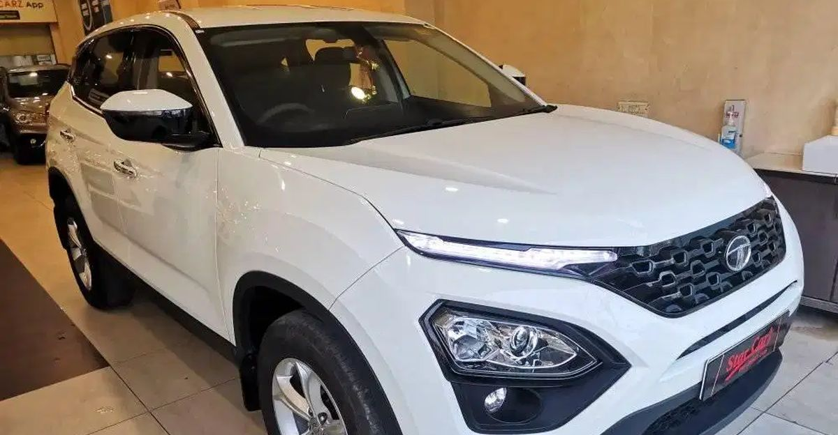 Sparingly-used Tata Harrier SUVs for sale