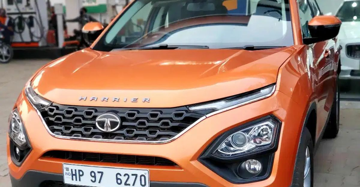 3 'almost-new' used Tata Harrier SUVs for sale