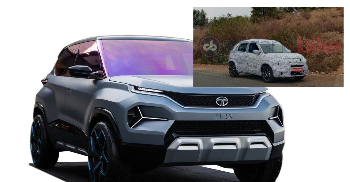Tata Hornbill HBX micro-SUV spotted testing once again