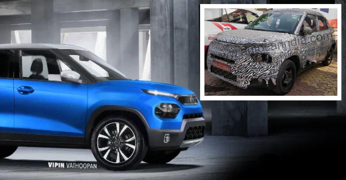 Upcoming Tata Hornbill HBX micro SUV: 3 recent spyshots
