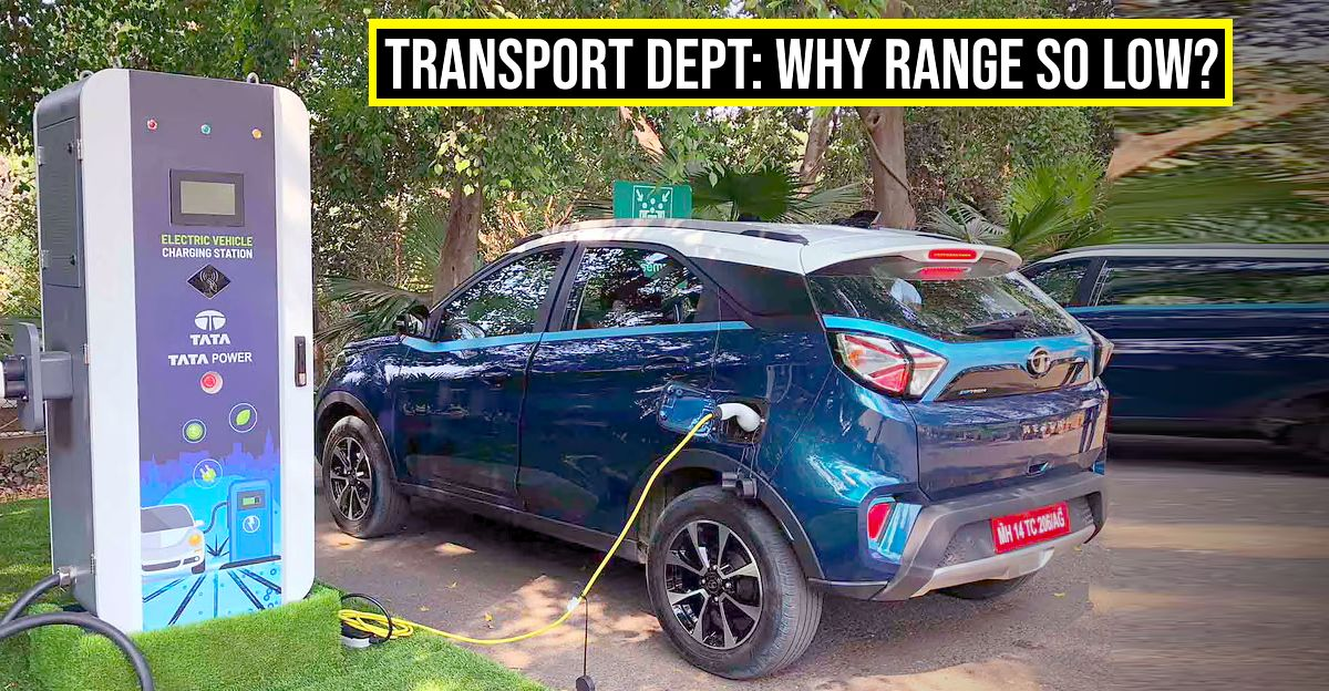 Tata Nexon EV's range: Transport Dept issues Show Cause Notice
