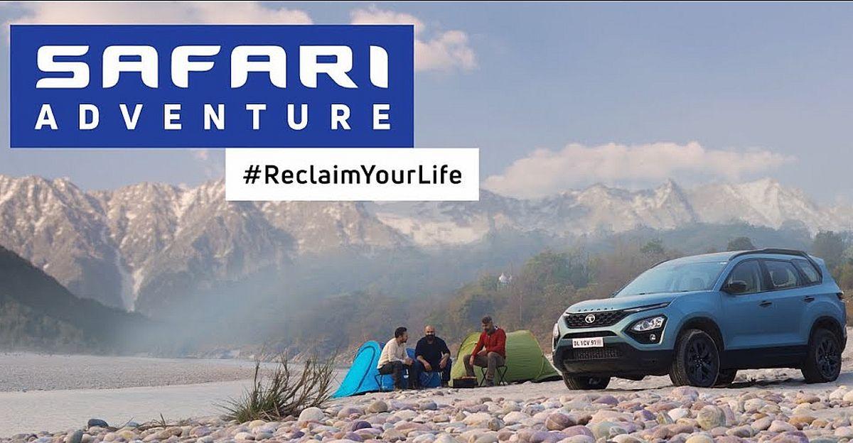 All New Tata Safari Adventure Persona Gets A Fresh Tvc