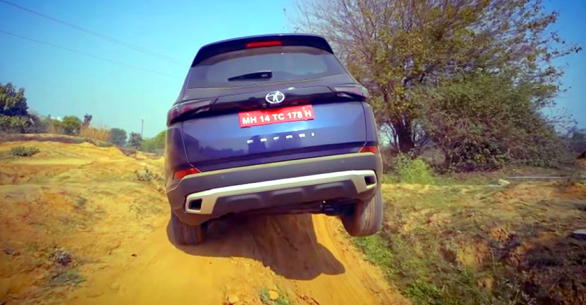 All-new Tata Safari SUV in an off-road review