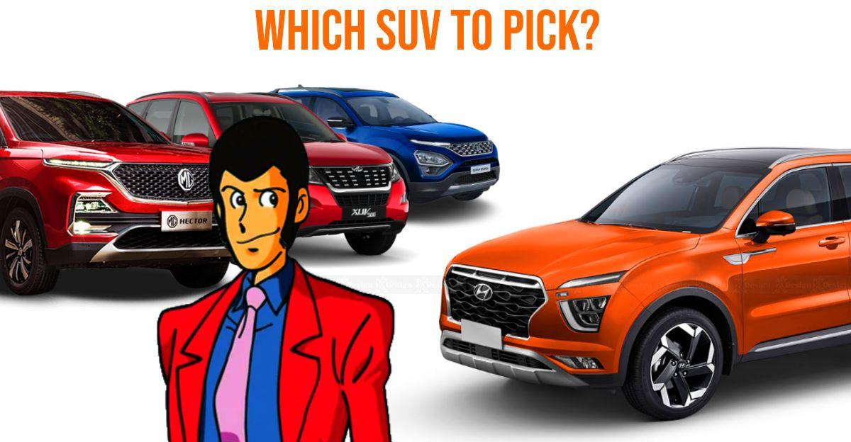 Hyundai Alcazar Vs Mahindra XUV500 Vs Tata Safari Vs MG Hector Plus: Which SUV should you buy?