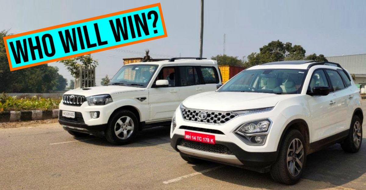 All-new Tata Safari 2021 vs Mahindra Scorpio: Interesting results