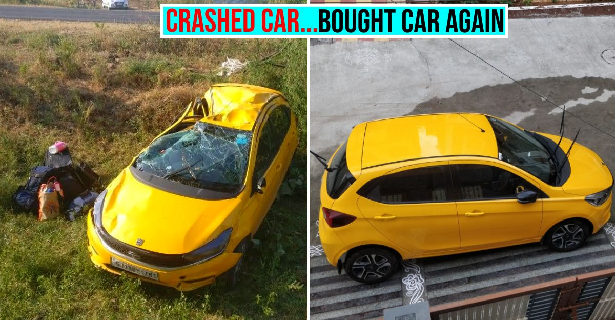 Owner thanks Tata Tiago for saving his life after accident, buys another one