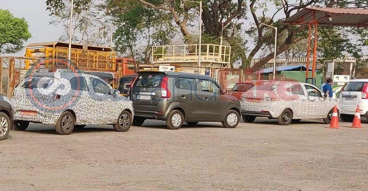 Tata Tiago & Tigor CNG variants spied ahead of launch