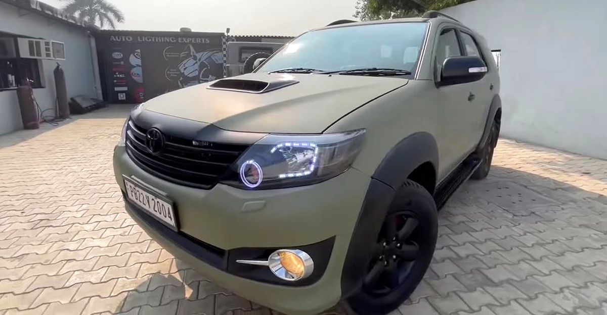 Toyota Fortuner: Type 1 beautifully modified to look like Type 2 model