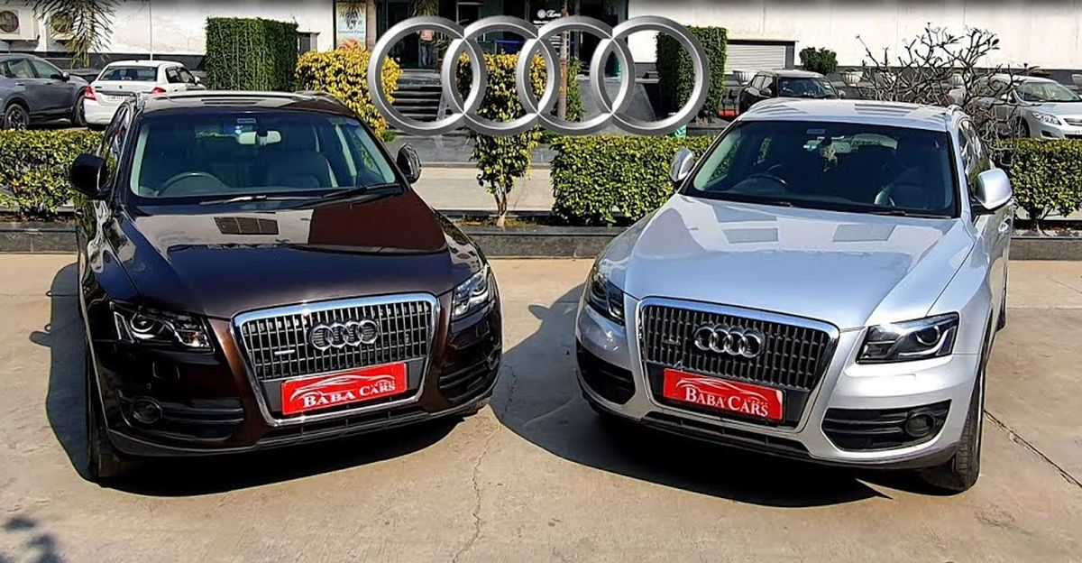Pre-owned, well maintained Audi Q5 luxury SUVs starting from Rs 9.95 lakh