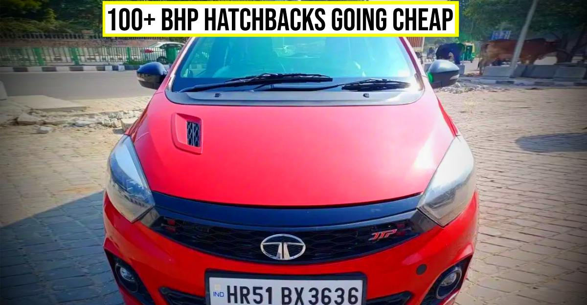 5 POWERFUL pre-owned 'hot hatchbacks' starting at under Rs. 4 lakh